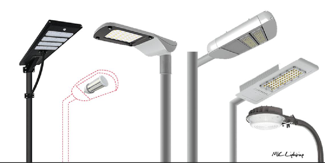 麦克风LED照明