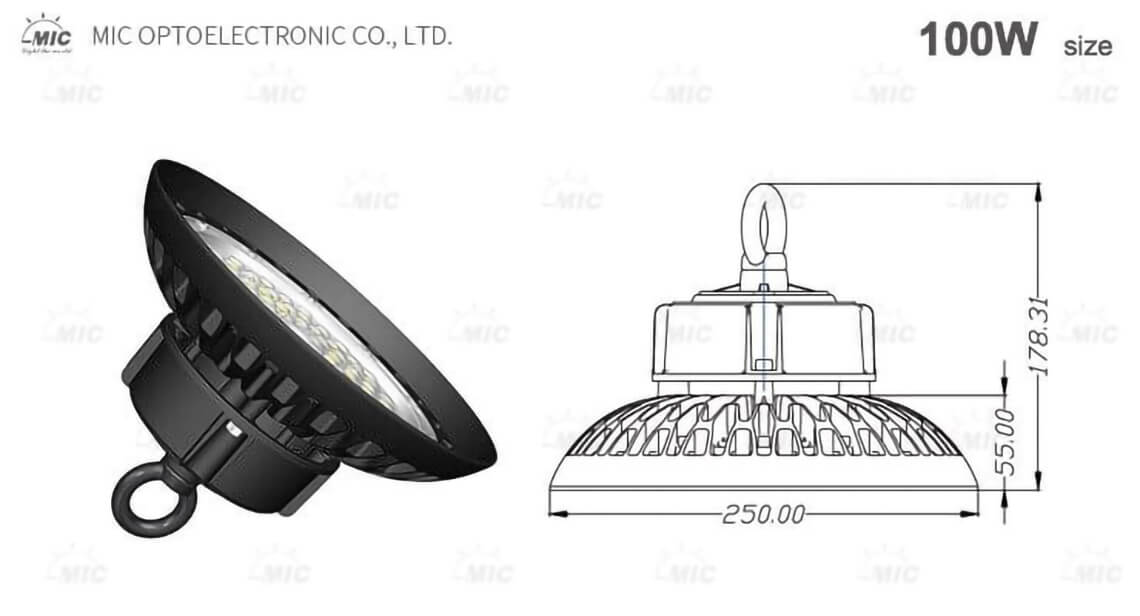 140lm led ufo led high bay light industrial-detail-2